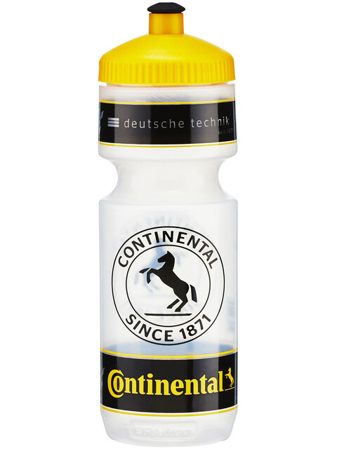 Continental Bottle Drink Bottle 750 ml yellow/transparent